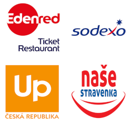 Edenred Ticket Restaurant, Sodexo, UP, Naše stravenka